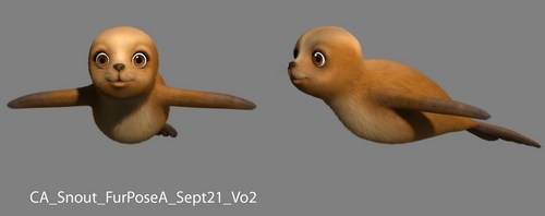 Barbie in A Mermaid Tale: Developing Snoutz, the Cute Sealion
