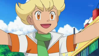 Jun (pokemon) wallpaper possibly with anime titled Barry!!