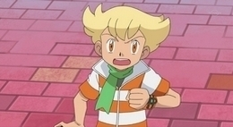 Pokemon Guys wallpaper containing anime entitled Barry