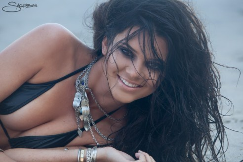 Kendall Jenner Beach on Kendall Jenner Beach Shoot