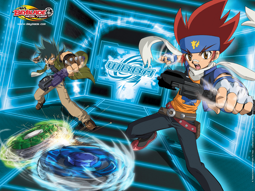 Beyblade Metal Fusion wallpaper with anime titled Beyblade.M.F