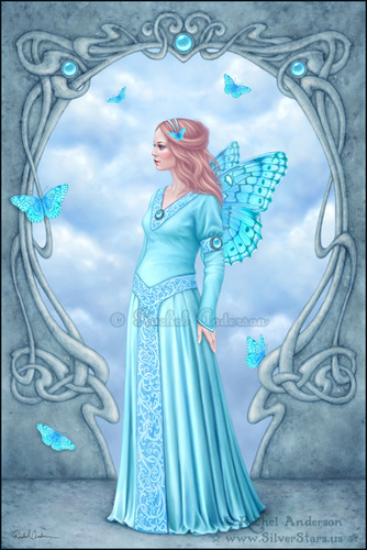 Birthstone Fairies-Aquamarine