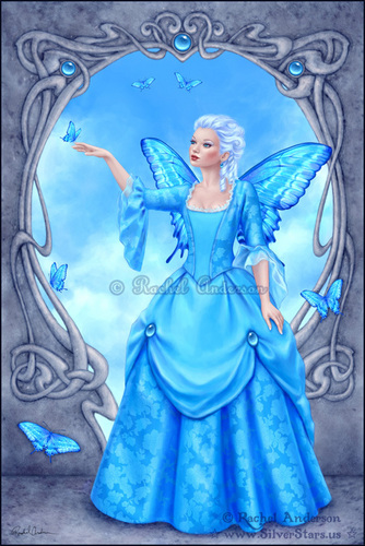 Birthstone Fairies-Blue Topaz