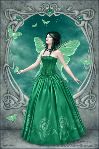 Birthstone Fairies-Emerald