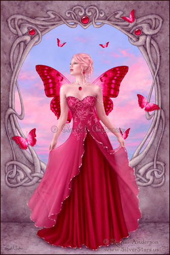 Birthstone Fairies-Ruby
