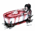 Blood Bath - horror-and-macabre fan art