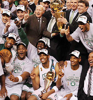 Boston Celtics Hintergrund probably containing a musiker, namentlich entitled Boston Celtics World Championship 2008