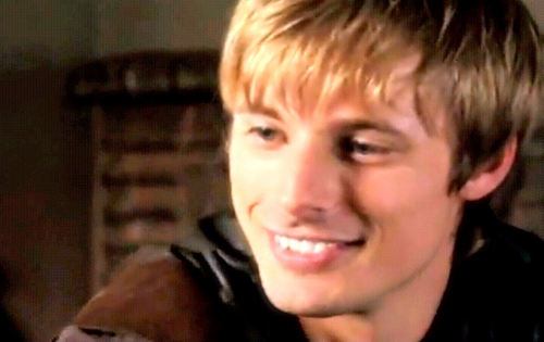 Bradley James wallpaper possibly containing a portrait called Bradley smile