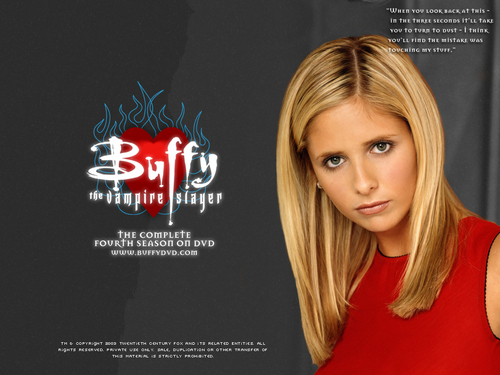 tv babaeng tauhan wolpeyper with a portrait entitled Buffy Summers