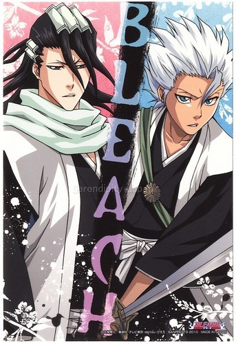 Byakuya and Toshirou