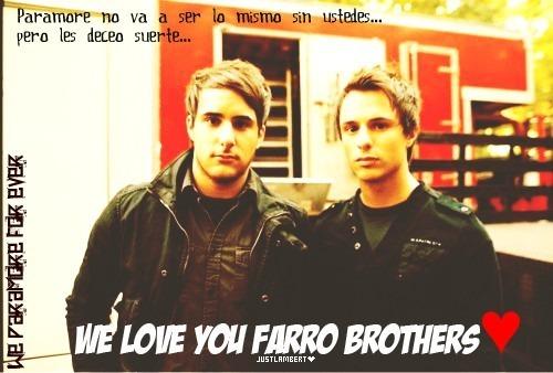 Bye bye farro's brothers