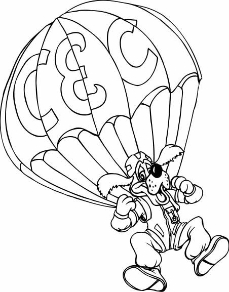 Chuck E Cheese Coloring Pages