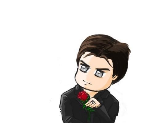 Cartoon Damon