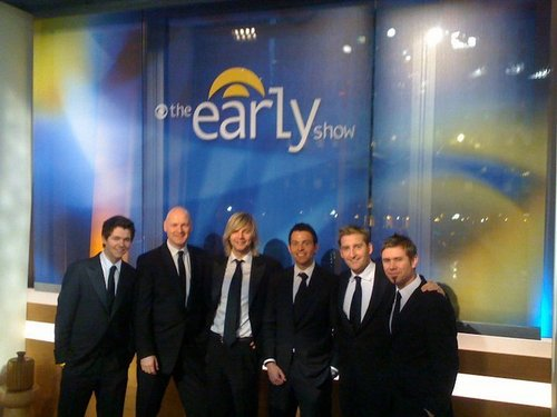 Celtic Thunder on The Early Show