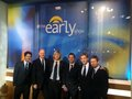 Celtic Thunder on The Early Show - paul-byrom photo