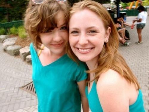 charlotte and Aislinn