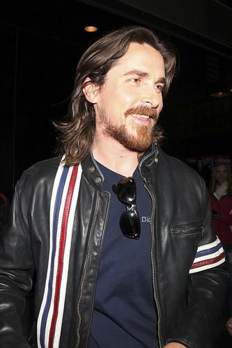 Christian Bale at GMA Studios