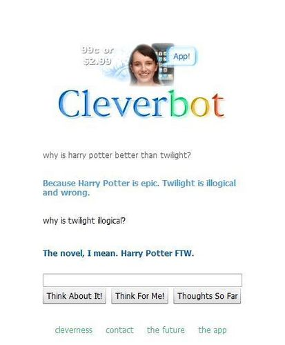 Cleverbot lol