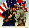 Confederate and Union Soldiers