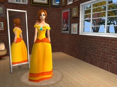 Coloring Pages Princess Peach : Princess peach and princess daisy coloring pages