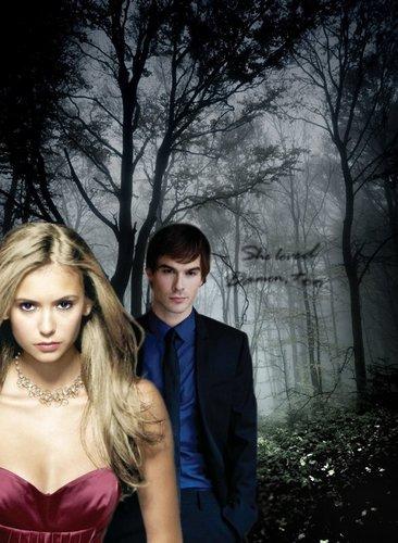 Damon/Elena book style LOL