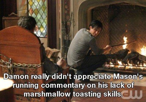 Damon & Mason - The real reason why he died!!