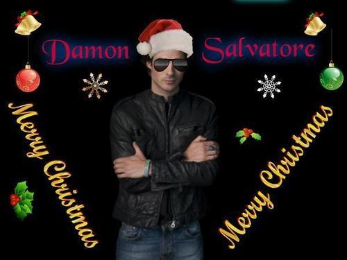 "Damon """" Merry Christmas """""