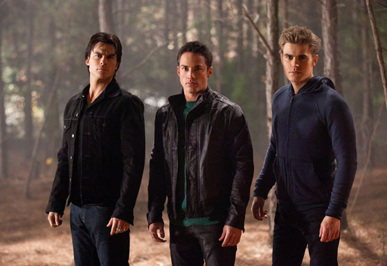 Damon Tyler & Stefan - The Vampire Diaries TV Show 559x385