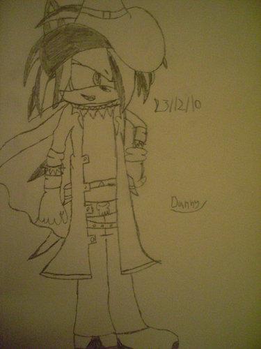 Darkstalker the outlaw line art