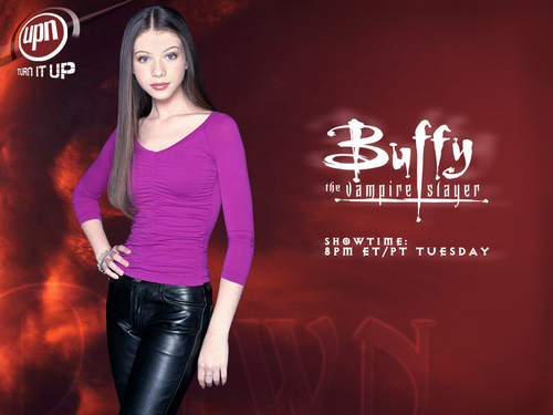 personaggi tv femminili wallpaper probably containing a hip boot, a legging, and tights called Dawn Summers