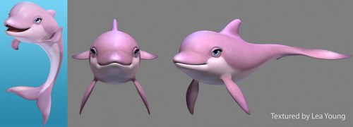 Developing Zuma, the Pink, Sparkly Dolphin