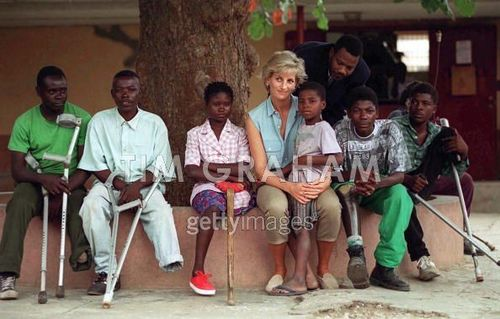 Diana And Children