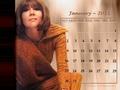 Diana - January 2011 (calendar)