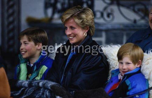 Diana William Harry Austria