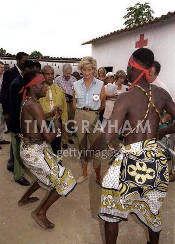 Diana in Angola