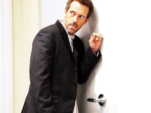 TV Male Characters wallpaper with a business suit and a suit entitled Dr Greg House