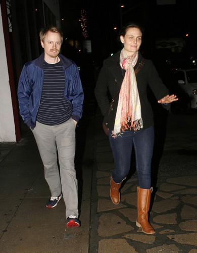 Emily & Her Husband out in West Hollywood