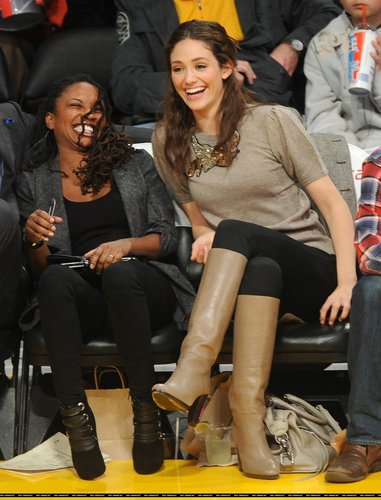 Emmy @ Lakers Game – December 7