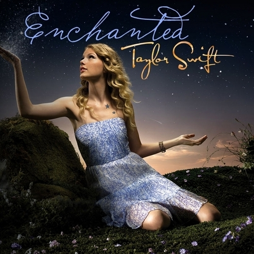 Taylor Swift wallpaper containing a cocktail dress called Enchanted [FanMade Single Cover]