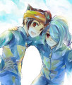 Endou and Kazemaru
