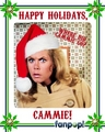 Fanpop Secret Santa 2010:  Cammie - fanpop-users fan art