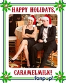 Fanpop Secret Santa 2010:  caramelmilk - fanpop-users fan art
