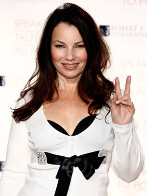 Fran Drescher karatasi la kupamba ukuta possibly with a portrait entitled Fran Drescher