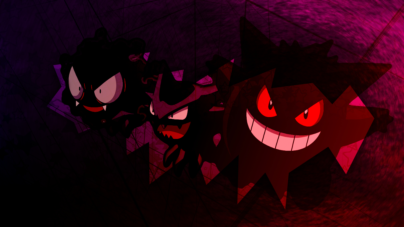 gastly haunter and gengar images gastly haunter and
