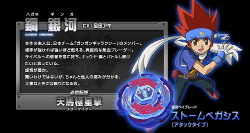 Ginga Hagane - metal-fight-beyblade Photo