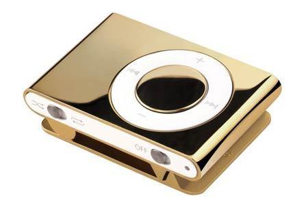 ゴールド ipodの, ipod Shuffle
