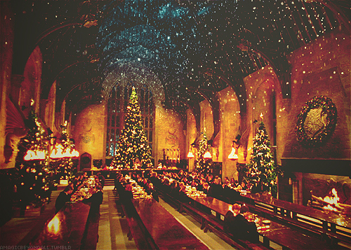 Hogwarts at natal time :))