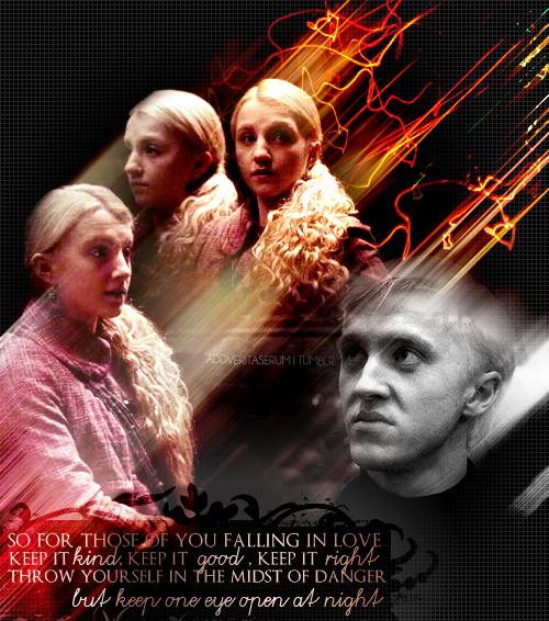 Luna lovegood and draco malfoy