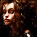 Helena as Bellatrix Lestrange