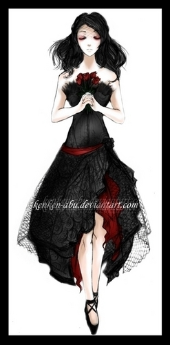 My Chemical Romance wallpaper possibly with an overskirt and a dinner dress entitled Helena